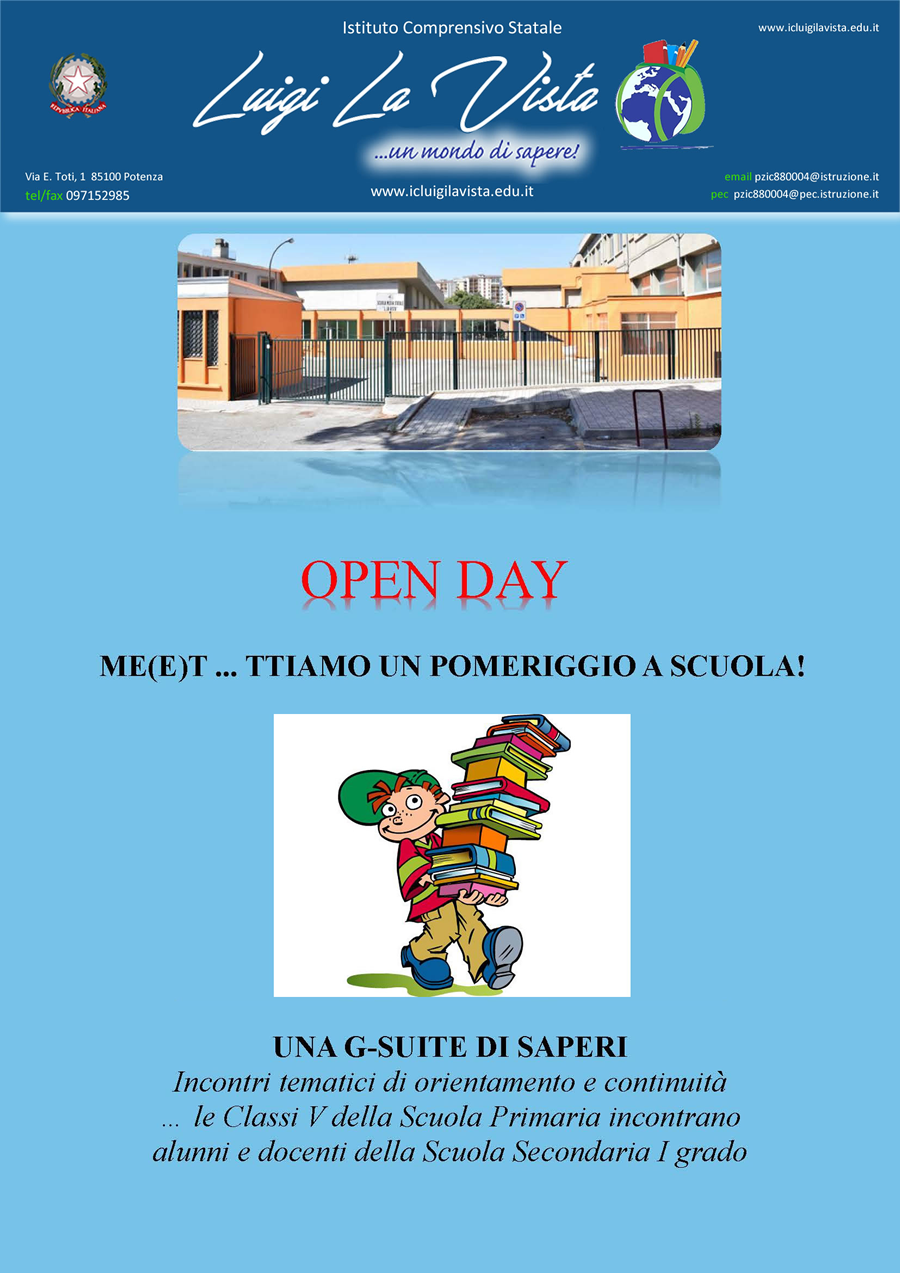 OPEN DAY 2020 2021
